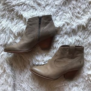 Frye Reina Ash Ankle Bootie